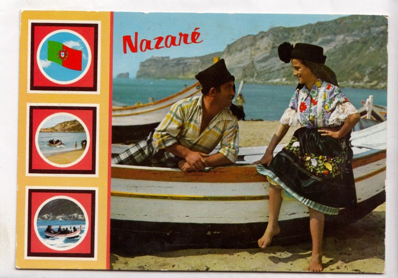 NAZARE, Portugal, Aspectos Tipicos, Typical views, unused Postcard