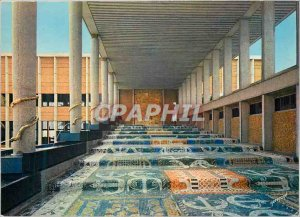 Postcard Modern Cotonou Palace of the Presidency of the Republic of Dahomey H...