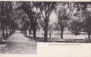Boston Common And Frog Pond, BOSTON, Massachusetts, 1900-1910s