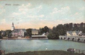MOTALA, Sweden, 1901-1907; General View, Lake