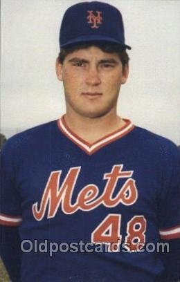 Randy Myers, Pitcher Mets Baseball Unused