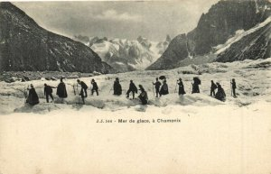 CPA Mer de glace a CHAMONIX (173456)