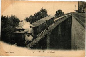 CPA AK Langres - Cremaillere sur le Pont (270366)