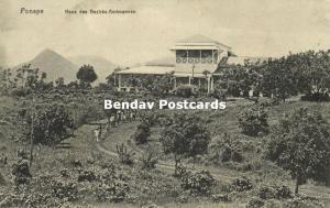 Micronesia, Senyavin Islands, PONAPE POHNPEI, House District Official (1910s)