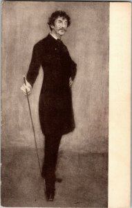Portrait of Whistler, by William Chase Pan-Pac Expo Vintage Postcard E58