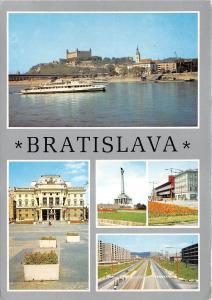 B84080 bratislava pohlad na hrad slovakia