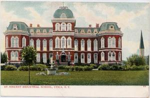 Saint Vincent Industrial School - Utica NY, New York - UDB