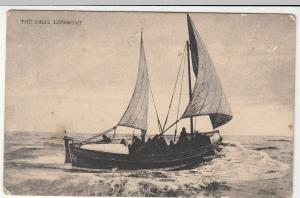 Kent; The Deal Lifeboat PPC Unposted, c 1910