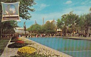 Pool Of Reflections And The Court Of Peace New York Worlds Fair 1964 1965