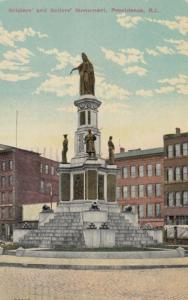 PROVIDENCE, Rhode Island, 1912 ; Soldier's & Sailer's Monument