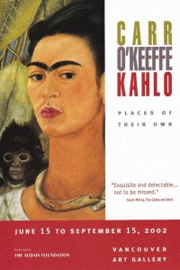 VANCOUVER, British Columbia, Canada, 2002; Vancouver Art Gallery, Frida Kahlo