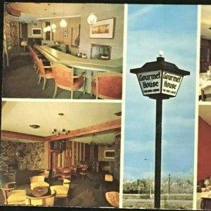 Mandan Bismarck North Dakota Gourmet House Restaurant Collage Chrome Unposted