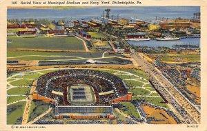 Municipal Stadium & Navy Yard Philadelphia, PA USA Football Stadium 1944