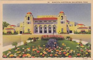 Municipal Auditorium, San Antonio, Texas, PU-1938