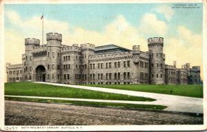 New York Buffalo 65th Regiment Armory Detroit Publishing