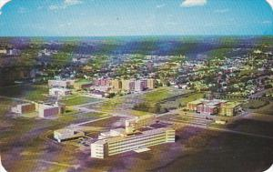 Canada Aerial View Hospitals Edmonton Alberta
