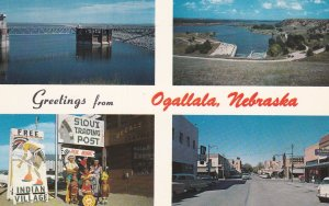 OGALLALA, Nebraska 50-60s Greetings from Ogallala, Nebraska