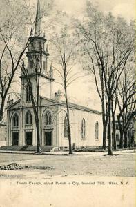 NY - Utica, Trinity Church, Oldest Parish in the City