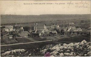 CPA Environs de PONTARLIER - DOUBS - Vue générale (131202)