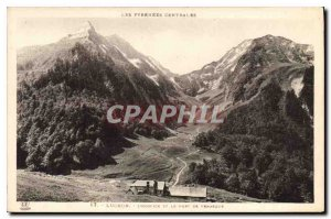 Old Postcard Luchon Hospice and port Vanasque