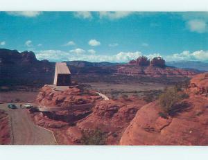 Unused Pre-1980 CHURCH SCENE Sedona Arizona AZ hs6449-22