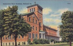 Immaculate Heart Academy Ashland Pennsylvania