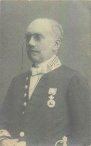 Postcard Historical figures Ian de Vos