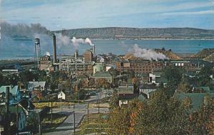 Panorama View From Grey St., Dalhousie, New Brunswick, Canada, PU-1966