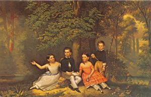 8932  Painting of Kellogg Children by Jasper Conant