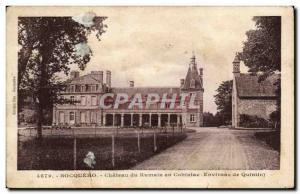 Old Postcard Bocqueho Chateau du Rumain in Cohiniac surroundings Quintin