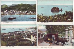 P996 4 old card madeira funchal etc views portugal