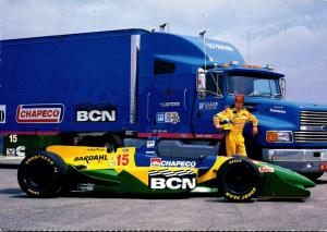 Christian Fittipaldi Transporter AeroMax 120 and Indy Car 1997