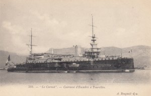 Warship : Le Carnot , France , 1900-10s