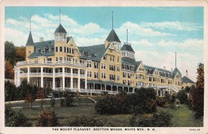 The Mount Pleasant, Bretton Woods, White Mountains, N.H., Postcard, Unused