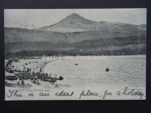 Scotland Isle of Arran GOAT FELL from Brodick Bay c1903 Postcard by Valentine