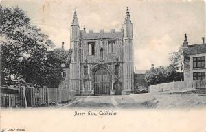 Colchester Abbey Gate Front View