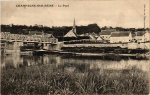 CPA CHAMPAGNE-sur-SEINE - Le Pont (436744)