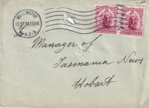 DR Robertson New Zealand Franking Machine Wellington Auckland Postmark s