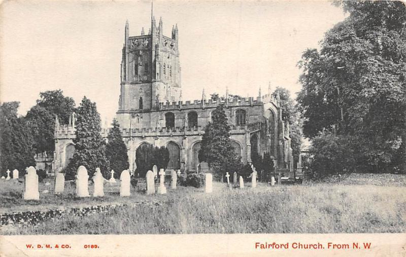 Fairford Church from N.W. The Cecily Series