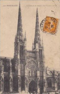 France Bordeaux Cathedrale Sainte Andre les Fleches 1922