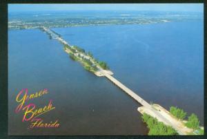 JENSEN BEACH FL Causeway Bridge Indian River Florida Continental Postcard