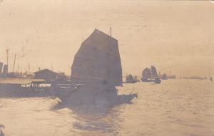 RP: China (Hong Kong) , 00-10s : Chinese Sampans , Hongkong Harbour
