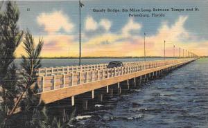9709 Gandy Bridge, Six Miles Long, between Tampa and St. Petersburg, Fla.