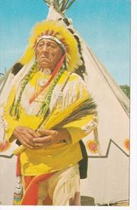 Oklahoma Anadarko Kiowa Indian Chief At Indian City U S A