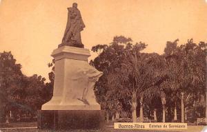 Buenos Aires Argentina Estatua de Sarmiento Buenos Aires Estatua de Sarmiento