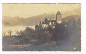 RP, Schloss Und Alpen, Spiez am Thunersee, Berne, Switzerland, 1920-40s