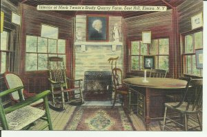 Interior Of Mark Twain's Study Quarry Farm, East Hill, Elmira, N.Y.