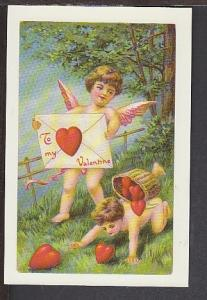 Valentines Day Reproduction Postcard BIN