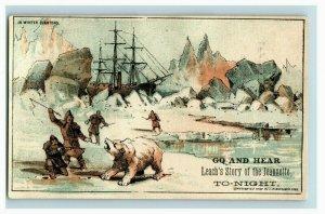 1882 Arctic Exploration Leach's Story Of Jeannette Fabulous! Lot Of 6 P206