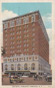 The Hotel Charlotte, Charlotte, North Carolina, 1910-1920s
